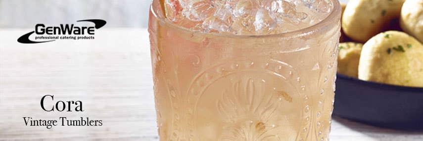 Genware Cora Vintage Tumbler Glassware