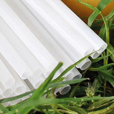 PLA Eco-Friendly Straws from Stephensons Catering Suppliers
