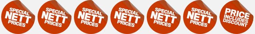 Special Nett Prices