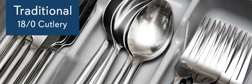 Traditional 18/0 Cutlery