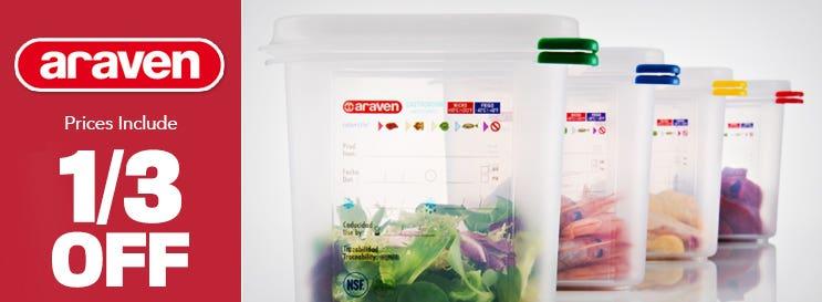 Araven Kitchen Storage 30% Off