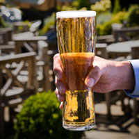 Aspen Polycarbonate pint glasses are virtually indestructible