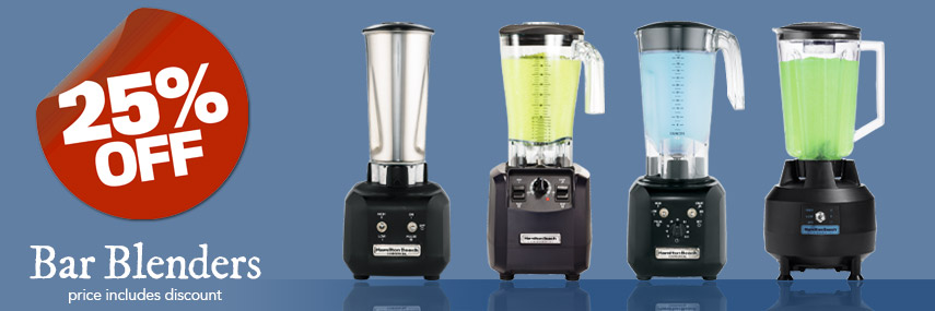 25% Off Hamilton Beach Blenders from Stephensons Catering Suppliers in the UK