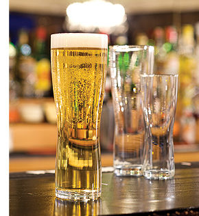Fully Toughened Beer Glass