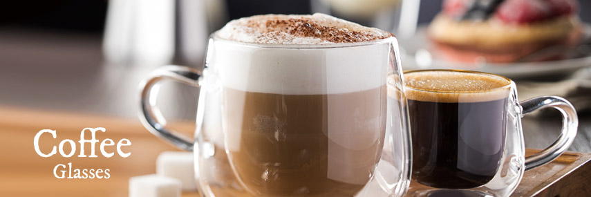 Coffee Glasses from Stephensons Catering Suppliers