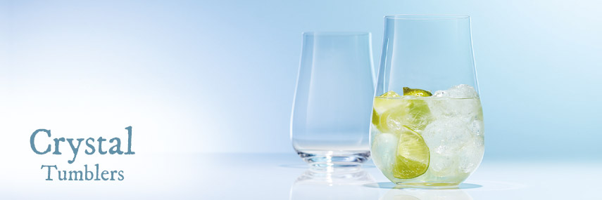 Crystal Glass Tumblers from Stephensons Catering Suppliers