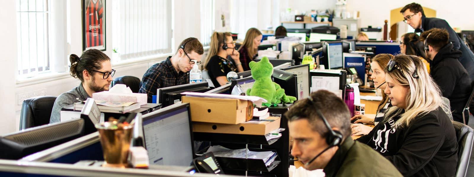 Stephenson's dedicated Customer Service Team