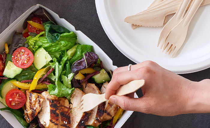 Eco-Friendly Disposable Cutlery from Stephensons Catering Suppliers