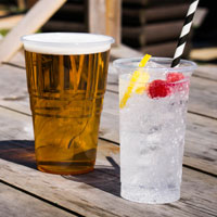 Stephensons stock a wide range of disposable glassware perfect for the summer months