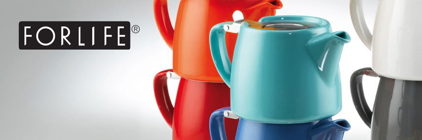 ForLife Coloured Stump Teapots from Stephensons Catering Suppliers