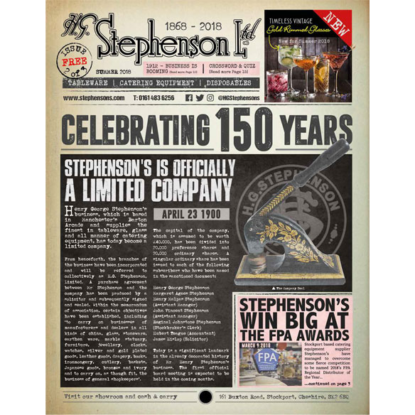 Download the 2019 Stephensons Commemorative Newspaper Edition 2