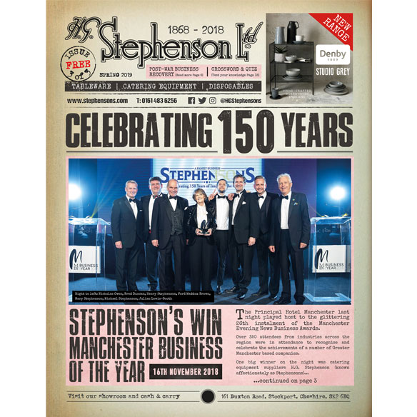 Download the Stephensons Commemorative Newspaper Edition 3