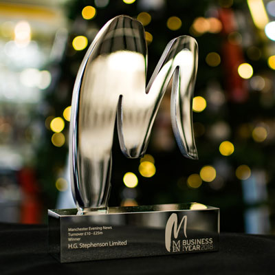 MEN Business Award Winners; Business of the Year (£10-25m Turnover)