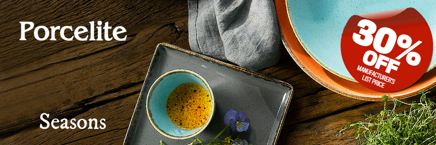 Porcelite Seasons Rustic Value Crockery from Stephensons Catering Suppliers