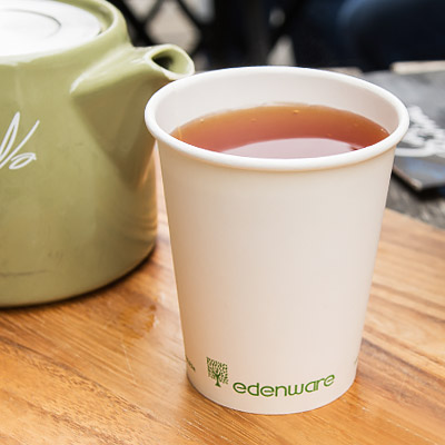 Single Wall PLA Hot Cups from Stephensons Catering Suppliers
