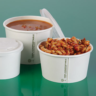 Eco-Friendly Soup Containers from Stephensons