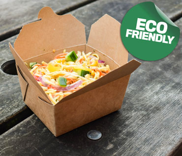 Compostable Disposable Street Food Packaging from Stephensons Catering Equipment