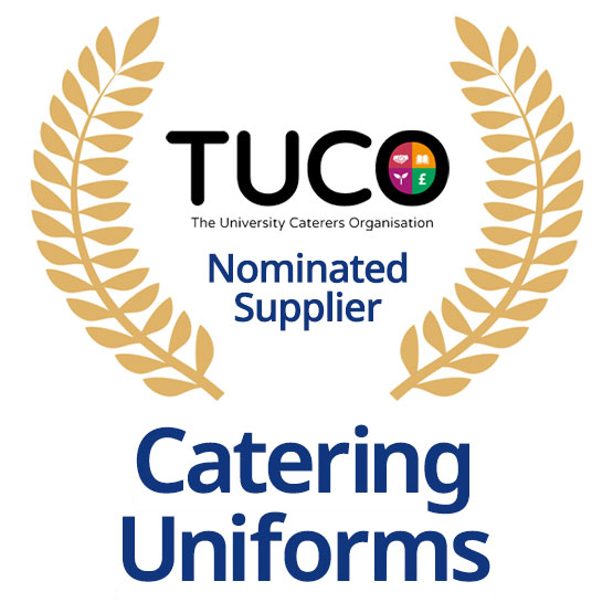 TUCO Nominated Supplier of Catering Uniforms